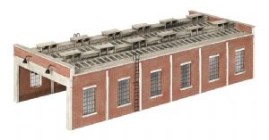 Scenecraft 42-0033 Two Lane Engine Shed